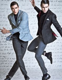 Diego Biancatti & Giovanni Tosi by Rxandy Capinpin for Style Weekend