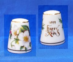STERLING CLASSIC 1999 CHRISTMAS THIMBLE........