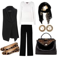 """Work Day Friday"" by annabouttown on Polyvore"