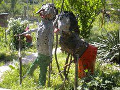 GICU  &   GICA  <garden decoration>