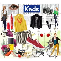"""""""Fall Hard for Keds"""" by gerry96 on Polyvore"""