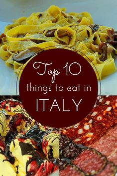 10 must have items for your trip to italy vaca discover the top ten things to eat in italy and where to eat them solutioingenieria Choice Image