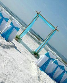 Image Detail for - Florida beach wedding « Barefoot Beach Weddings