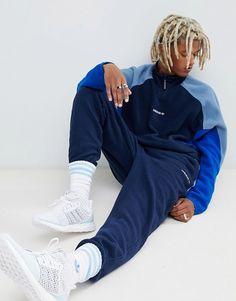 adidas eqt fleece blu