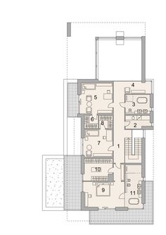 House Project LK&1522 Home Projects, Floor Plans, Modern, House, Trendy Tree, Home, Homes, House Projects, Floor Plan Drawing