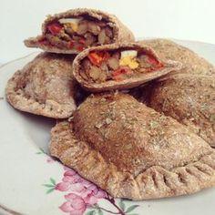 Empanadas integrales con pino de lentejas
