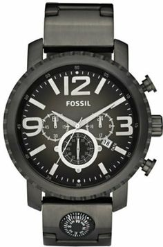 Fossil Gage Plated Stainless Steel Watch - Smoke Fossil. $139.95. 50mm Case Diameter. 50 Meters / 165 Feet / 5 ATM Water Resistant. Quartz Movement. Mineral Crystal