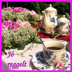 Good Morning, Tea Cups, Tableware, Google, Buen Dia, Dinnerware, Bonjour, Tablewares, Dishes