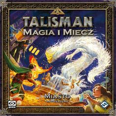 Gra planszowa Talisman Magia i Miecz: Miasto
