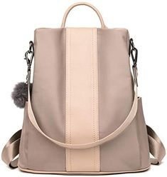 32fddf889c8c Amazing offer on VAQM Fashion Backpack Purse Women Nylon Backpacks Anti  Theft Ladies Casual Daypack Stylish Shoulder Bag online - Offerdressforyou