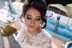 Styled Shoot: Goud met 'something blue' Wedding Shoot, Wedding Makeup, Something Blue, Most Beautiful, Wedding Inspiration, Wedding Photography, Fashion, Wedding Make Up, Moda