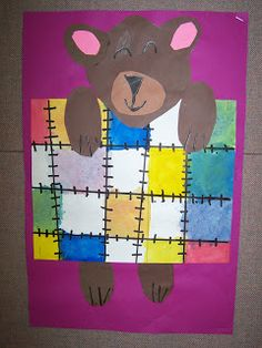 The 1st grade students learned about and looked at the artwork created by Piet Mondrian. They learned the three primary colors: red, yellow,...