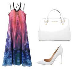 """""""Wonderful summer kit"""" by almamehmedovic-79 ❤ liked on Polyvore featuring WithChic, Gianvito Rossi and Michael Kors"""