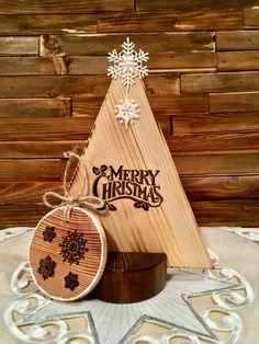Merry Christmas Tree Single by WoodCraftDesignbyMZ on Etsy Christmas Wood Crafts, Merry Christmas, Christmas Decorations, Christmas Shopping, Design Crafts, Creative, Handmade, Etsy, Hand Made