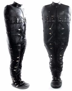 Cow Leather, Real Leather, Leather Pants, Black Leather, Posture Collar, Straight Jacket, Sleep Sacks, Combat Boots, Stuff To Buy