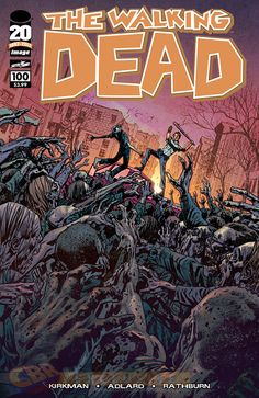The Walking Dead #100 alternative cover by Brian Hitch