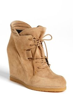Stuart Weitzman 'Kidstuff' High Top Wedge Sneaker available at #Nordstrom