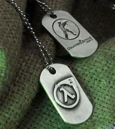 Counter Strike Dog Tag - CS $25