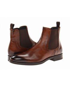 Giày Boot Cao Cấp To Boot New York Nam Cary Không Dây Da Nâu