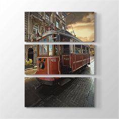 Taksim Tramvay Kanvas Tablo