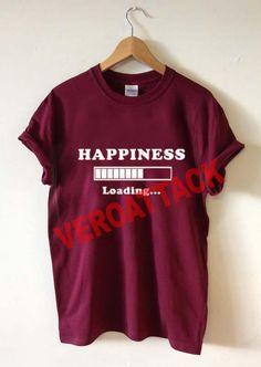 2b07e3bc2d7d4 happiness loading please wait T Shirt Size XS