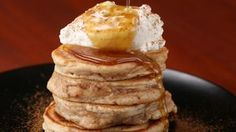 Here is what you'll need! APPLE RING PANCAKES Serving 3 INGREDIENTS 1 apple ½ teaspoon cinnamon Pancake Batter 1 egg 2 tablespoons butter, melted 1 teaspoon ...