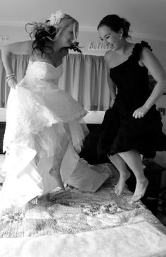 A Must do with your Maid of Honour! So much fun and great photo!