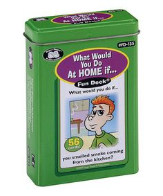 Love this What Would You Do at Home Card Deck on #zulily! #zulilyfinds