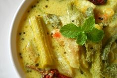 South Indian Avial Recipe - Another famous curry from South Indian Cuisine called as South Indian Avial Recipe.