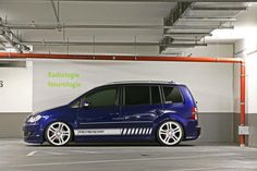 VW Touran MR Car Design