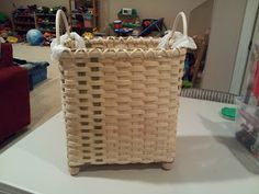 With These Hands: Grocery sack waste basket