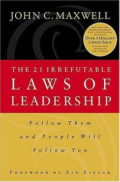 I was given this book thirteen years ago. It is the best leadership book ever written.