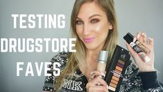 TESTING OUR DRUGSTORE FAVORITES │ COLLAB WITH KIM NUZZOLO