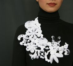 paper necklace by giovanna gariboldi