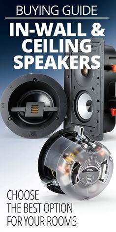 How to choose in-wall and ceiling speakers – audio room ideas Home Theater Setup, At Home Movie Theater, Home Theater Speakers, Home Theater Rooms, Home Theater Design, Cinema Room, Best Home Theater System, Surround Sound Speakers, Surround Sound Systems