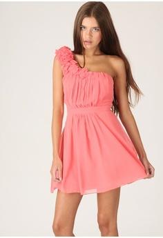 Terra one shoulder dress