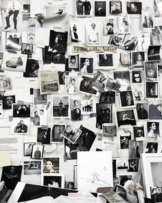 Black and white photos moodboard. Picture Wall, Photo Wall, Collage Foto, Photowall Ideas, Inspiration Wand, Photo Polaroid, Home And Deco, Trendy Bedroom, My New Room