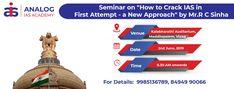Free Seminar for UPSC Aspirants 2020 at Vizag Auditorium, Free
