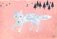 Aiko Fukawa / wolf illustration
