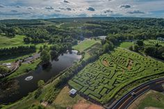 Get lost ... in a Connecticut maze  Corn mazes are a major fall tradition in Connecticut. Here's @LymanOrchards' special 275th Anniversary #CornMaze, ft. the historic Lyman Orchards' Homestead. What's your favorite Connecticut corn maze to visit in the fall? #FindFallFaster #CTvisit