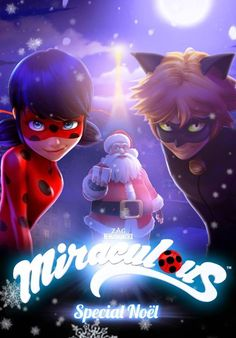 Official poster for the #Miraculous ladybug Christmas special episode