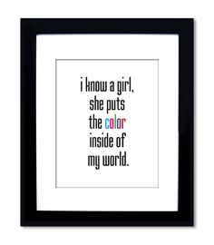 So true about my beautiful baby girl.