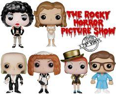 Bonecos Funko Pop! do Filme The Rocky Horror Picture Show