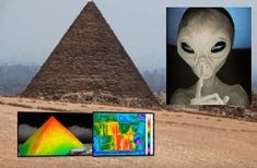 Mysterious object found in the Great Pyramid of Giza by New Thermal Scan!!!