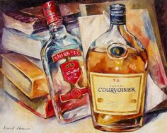 COURVOISIER - Palette knife Oil Painting on Canvas by Leonid Afremov http://afremov.com/COURVOISIER-Palette-knife-Oil-Painting-on-Canvas-by-Leonid-Afremov-Size-30-x24.html?utm_source=s-pinterest&utm_medium=/afremov_usa&utm_campaign=ADD-YOUR