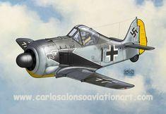 Focke Wulf Fw 190A-4 Horst Hanning, II./JG 2, 1943