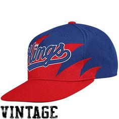 the latest d1d98 4d660 NBA Mitchell Ness Sacramento Kings Mens Sharktooth Snapback Hat RedRoyal  Blue -- Visit the image link more details.