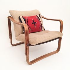 These bentwood slingback chairs where an amazing find. A perfect cozy reading chair
