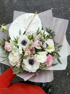 #букет #флористика #цветы #антуриум #flowers