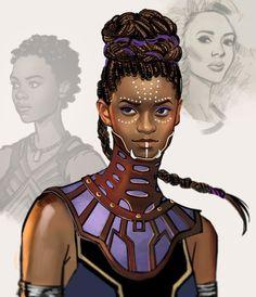 Princess of Wakanda - https://mstrmagnolia.tumblr.com/post/171164116001/princess-of-wakanda